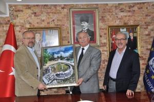 EÇFOD, Kütahya Belediye Başkanı Mustafa İça'yı Ziyaret Etti
