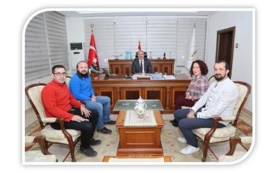 Kütahya Valimiz Ömer TORAMAN'a Ziyaret